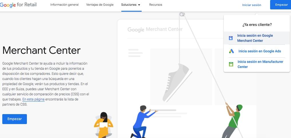 campana de google shopping paa ecommerce