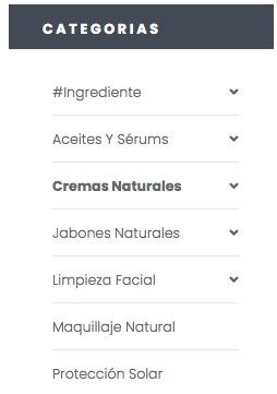 categorias y subcategorias woocomerce tienda online